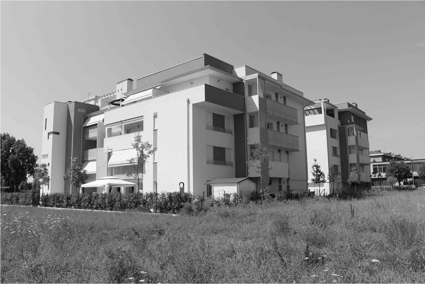 Edificio Casa Clima A - 25 Alloggi Modena - anno 2010